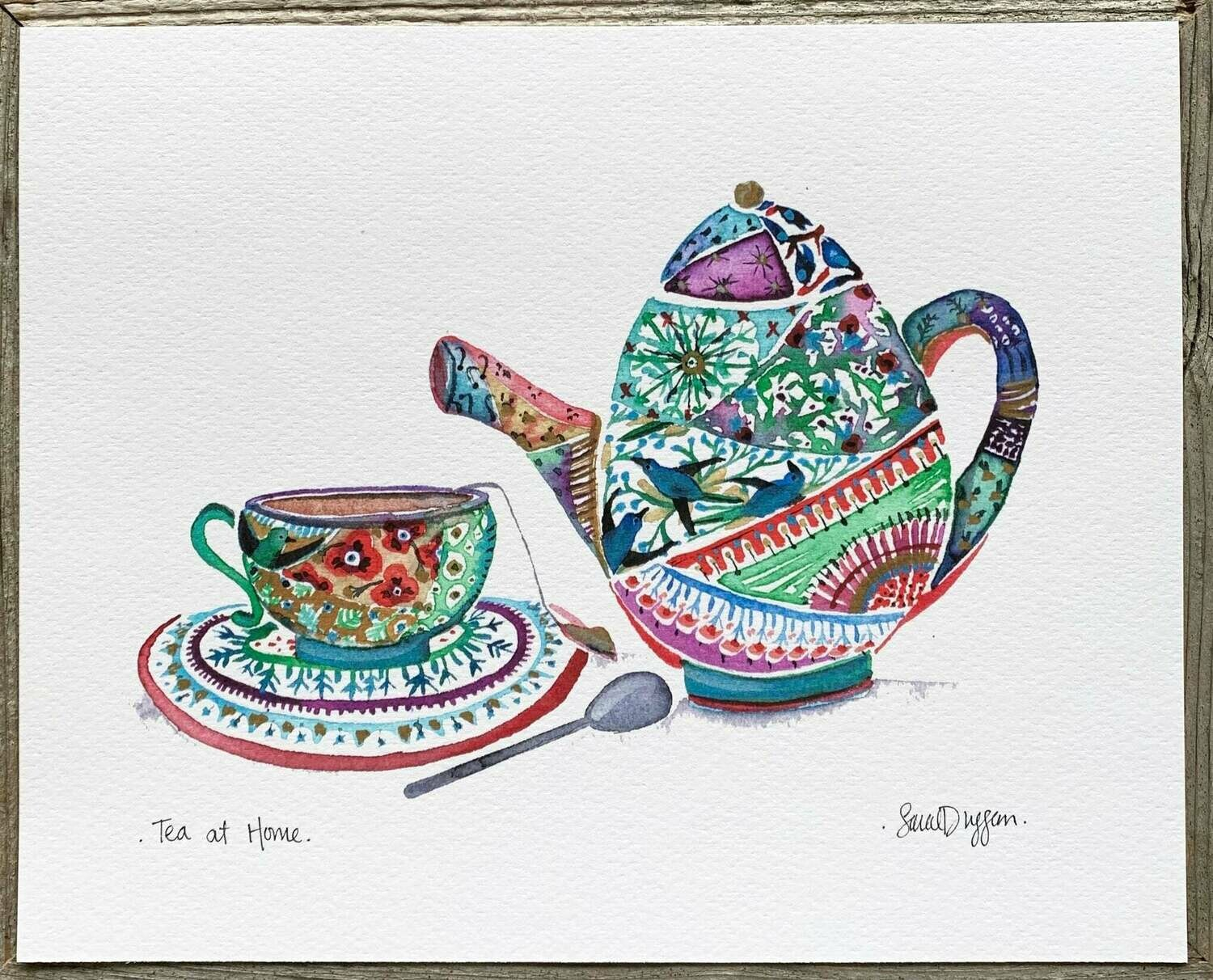 Tea at Home Card - Sarah Duggan