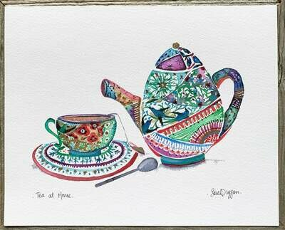 Tea at Home Card - Sarah Duggan