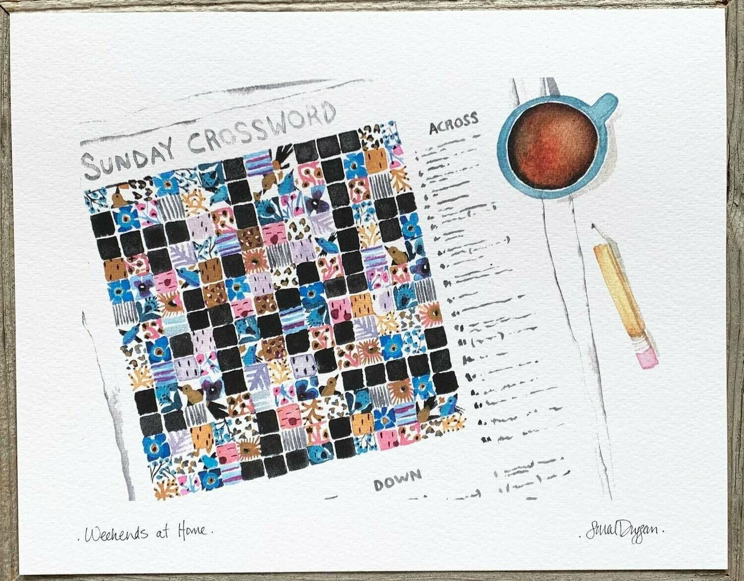 Weekends at Home Card - Sarah Duggan