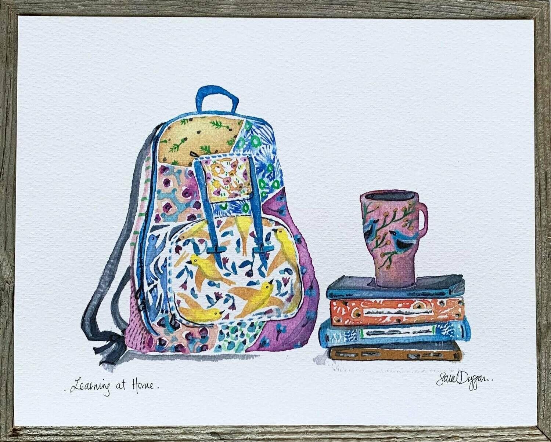 Learning at Home Card - Sarah Duggan