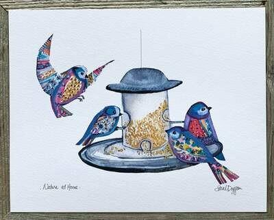 Nature at Home Card - Sarah Duggan