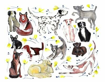 Dogs and Wildflowers - Sarah Duggan