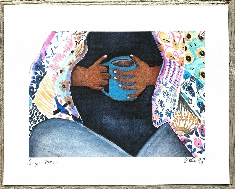 Cozy at Home Card - Sarah Duggan