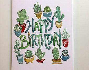 Happy Birthday Card - Sarah Duggan