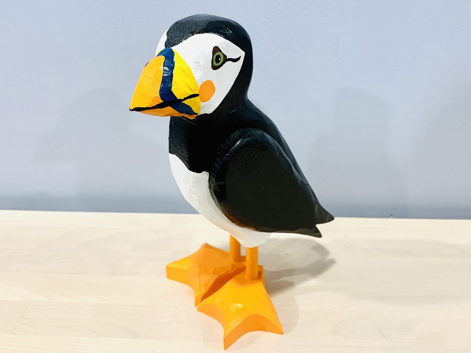 Large Puffin Timberdoodle