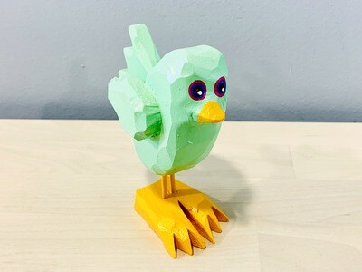 Mint Chick Timberdoodle