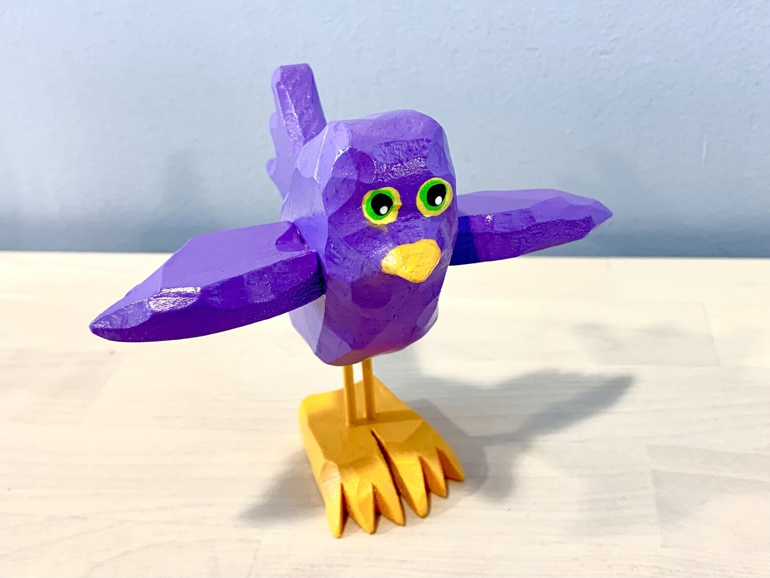 Purple Flying Chick Timberdoodle