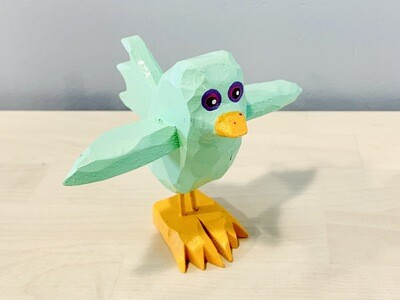 Mint Flying Chick Timberdoodle
