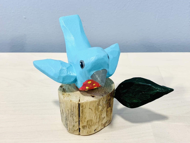 Aqua Songbird Timberdoodle