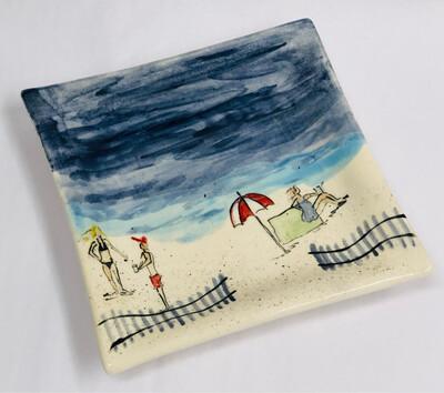 Square Beach Platter - Clayton Dickson