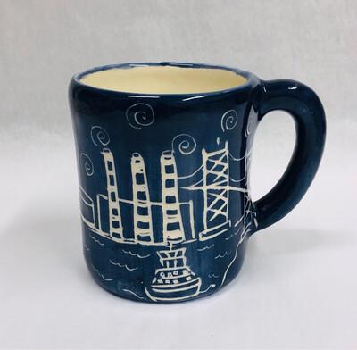 Right Handed Ferry Mug - Clayton Dickson