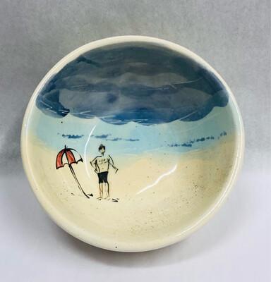 Male, Black Shorts Beach Bowl - Clayton Dickson