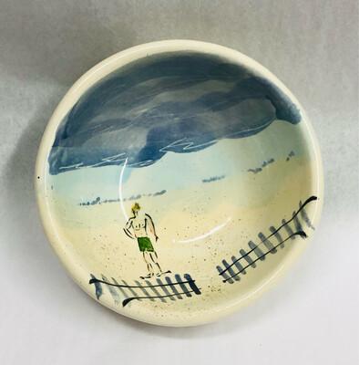 Male, Green Shorts Beach Bowl - Clayton Dickson