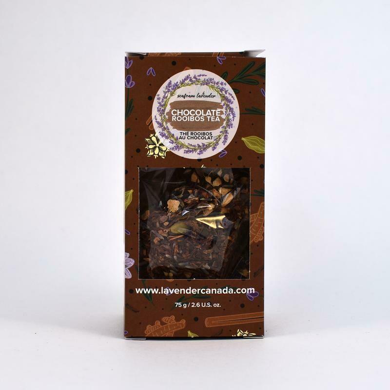 Chocolate Lavender Tea, large