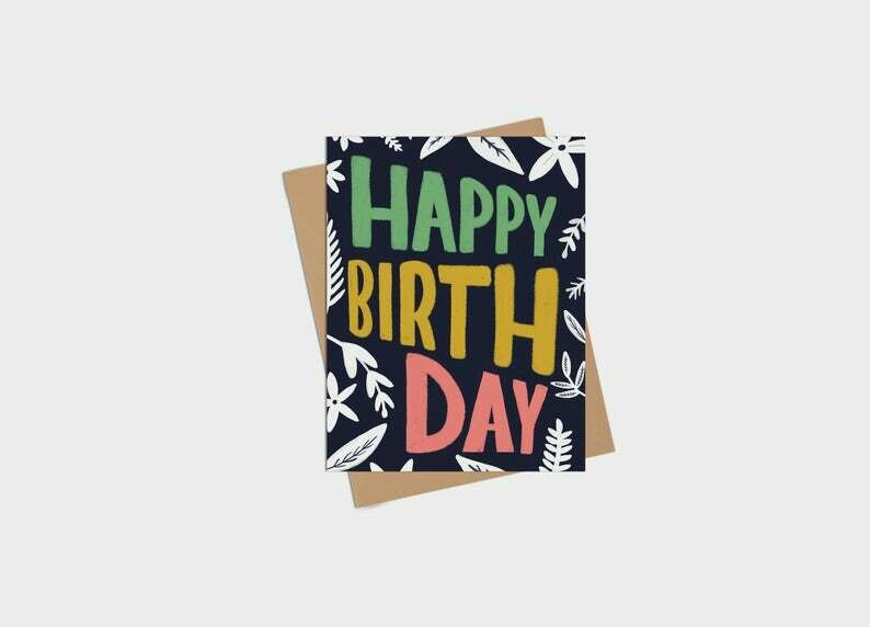 Happy Birthday Card - Kim Roach