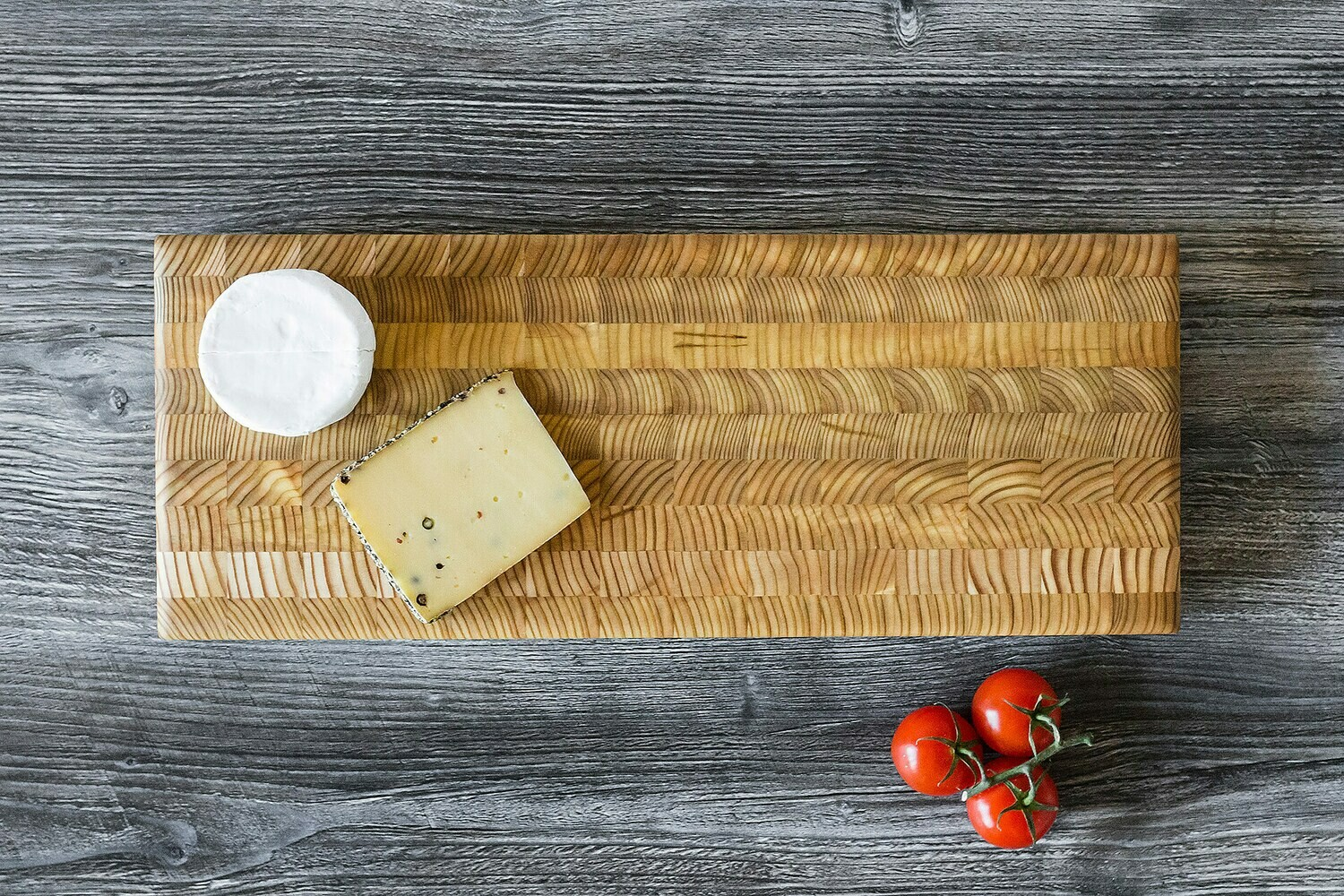 Double Cheese Board Larch