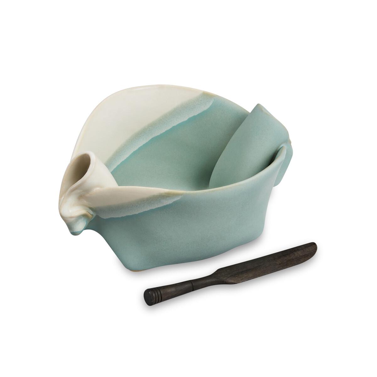 Hilborn Pinch Pot- Robin's Egg