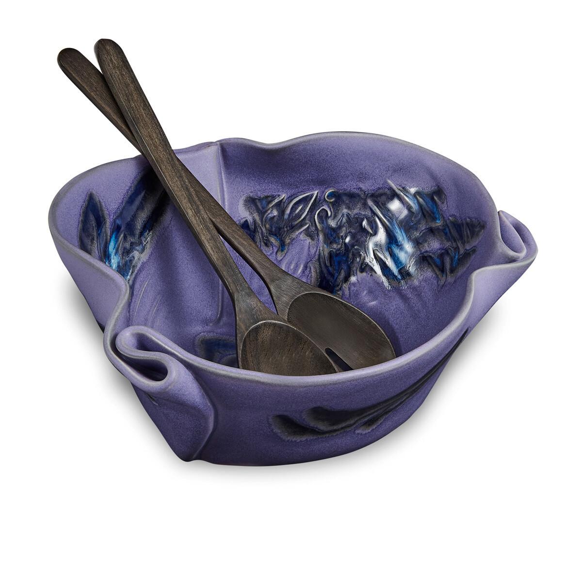 Hilborn Serving Bowl- Periwinkle Blue