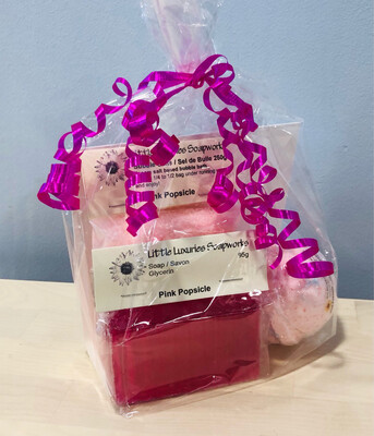 Pink Popsicle Gift Bag