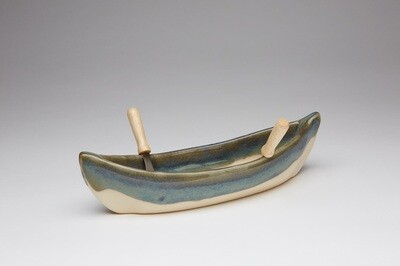 Maxwell Canoe Dip Pot - Seaside