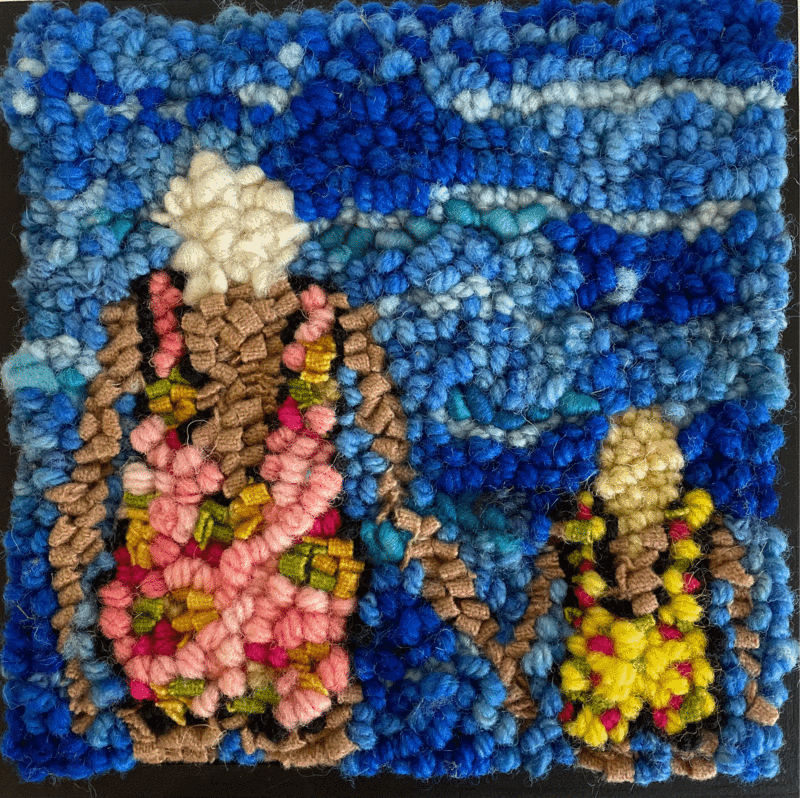 Rug Hooking Kit - Beach Buddies