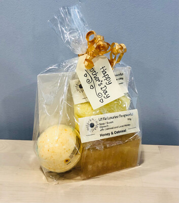 Mother's Day Gift Set - Honey Oatmeal