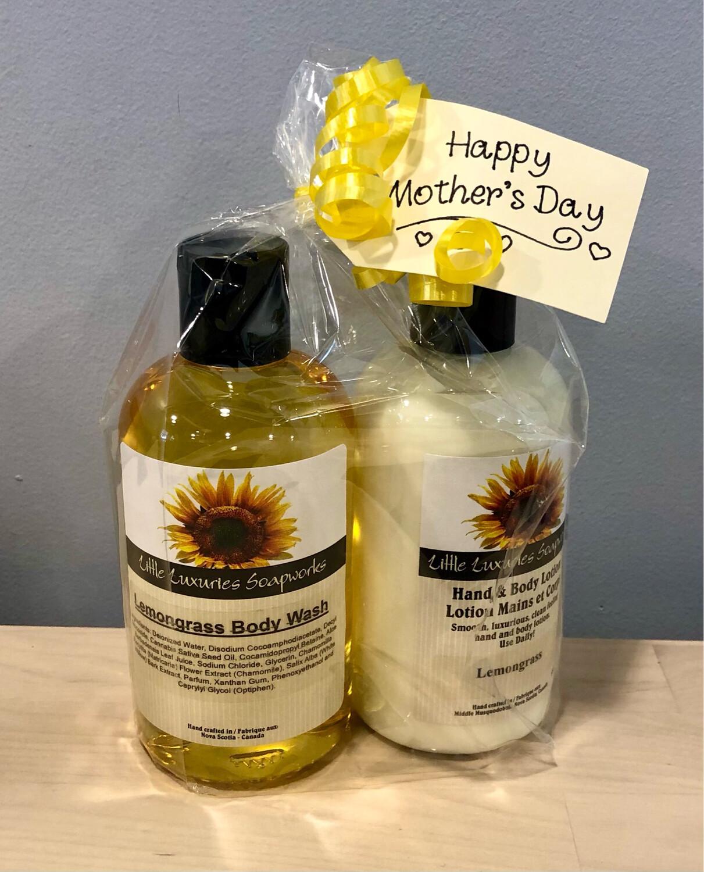 Body Wash Gift Set Lemongrass