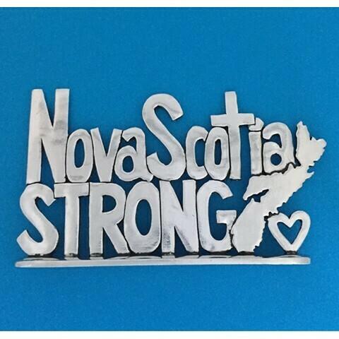 Nova Scotia Strong Standing Quote- Basic Spirit