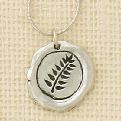 Fern Symbol Necklace- Basic Spirit