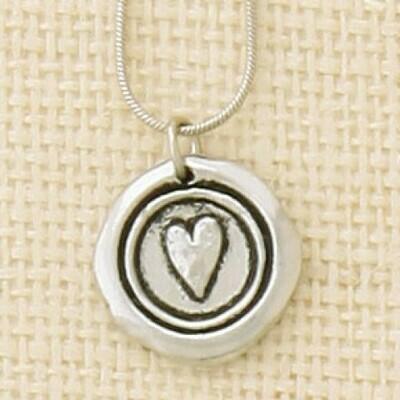 Heart Symbol Necklace- Basic Spirit