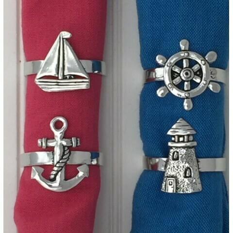 Nautical Napkin Rings- Basic Spirit