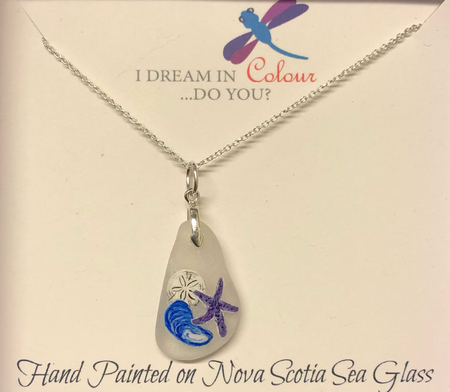 Painted Sea Glass, Shells - I Dream in Colour