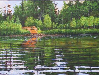 A Little Quiet Time, McCabe Lake