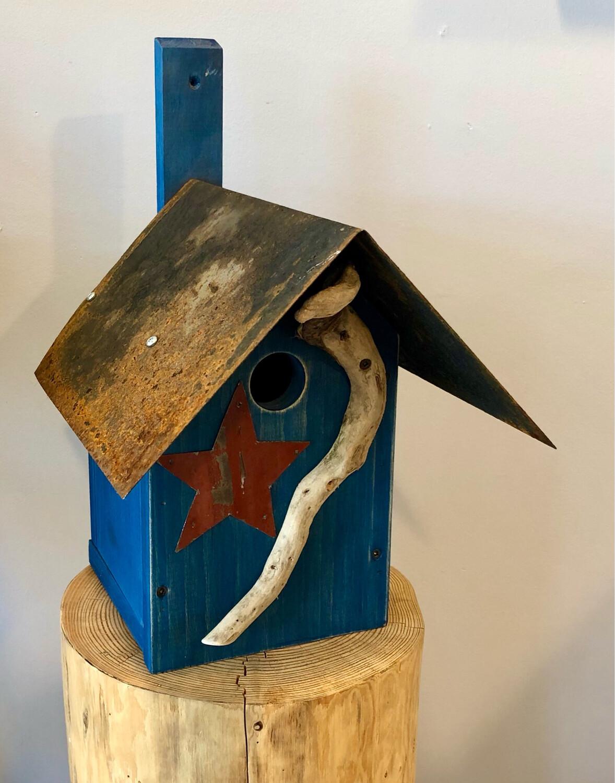 Blue Bird House - Jerry Walsh