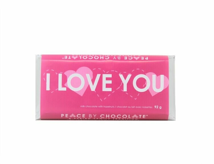 Peace by Chocolate - I Love You Bar