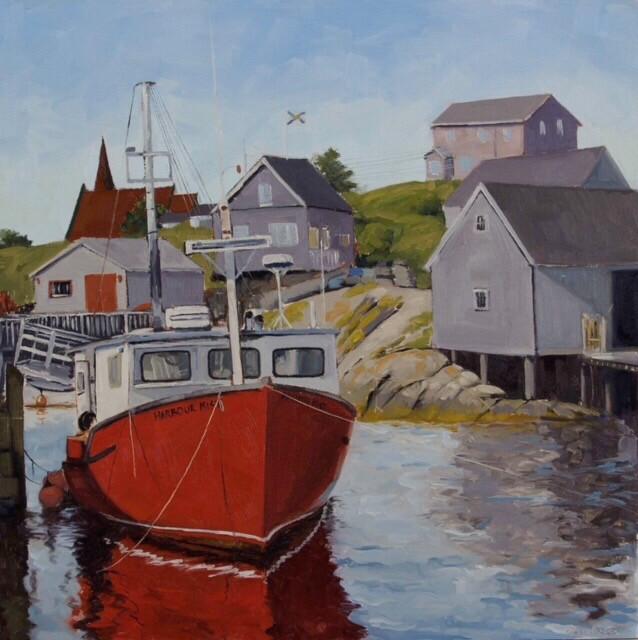 Harbour Mist, Peggy's Cove