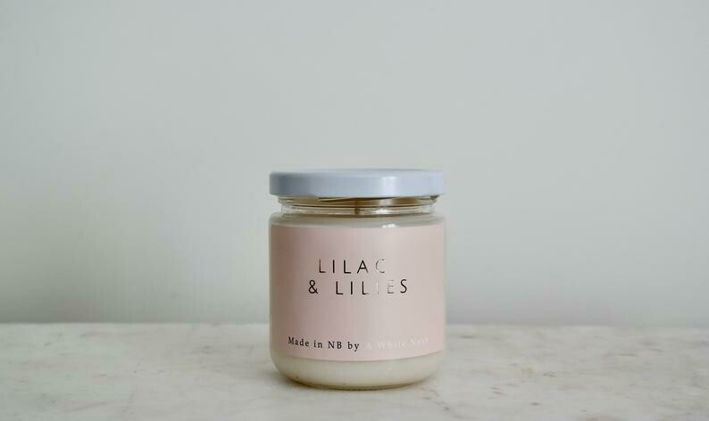 Lilac and Lillies Candle