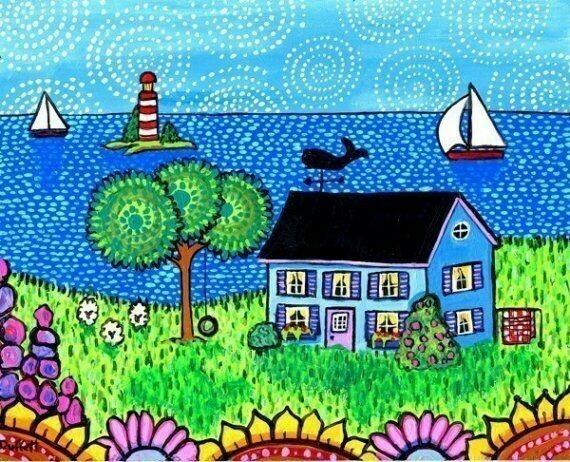 Blue Cottage - Shelagh Duffett