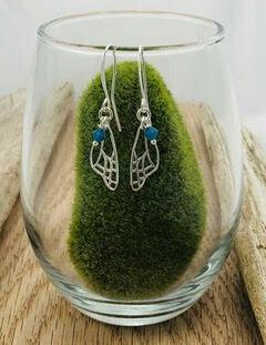 Butterfly Wing Earring- Shy Giraffe