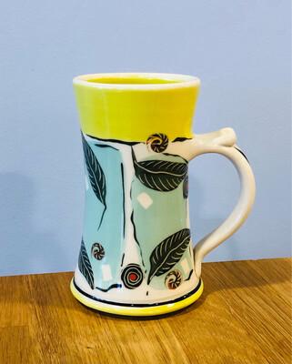 Lime Mug, Green Inside - Keffer