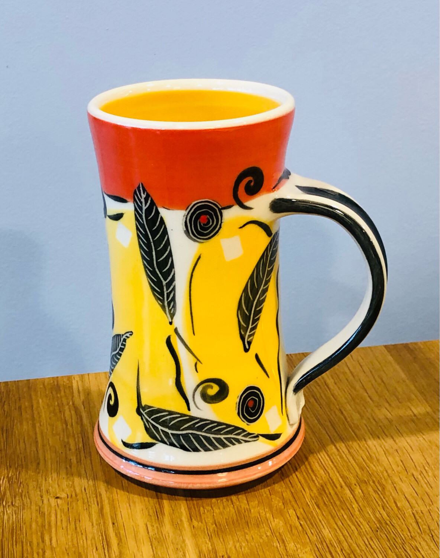 Orange Mug, Orange Inside - Keffer