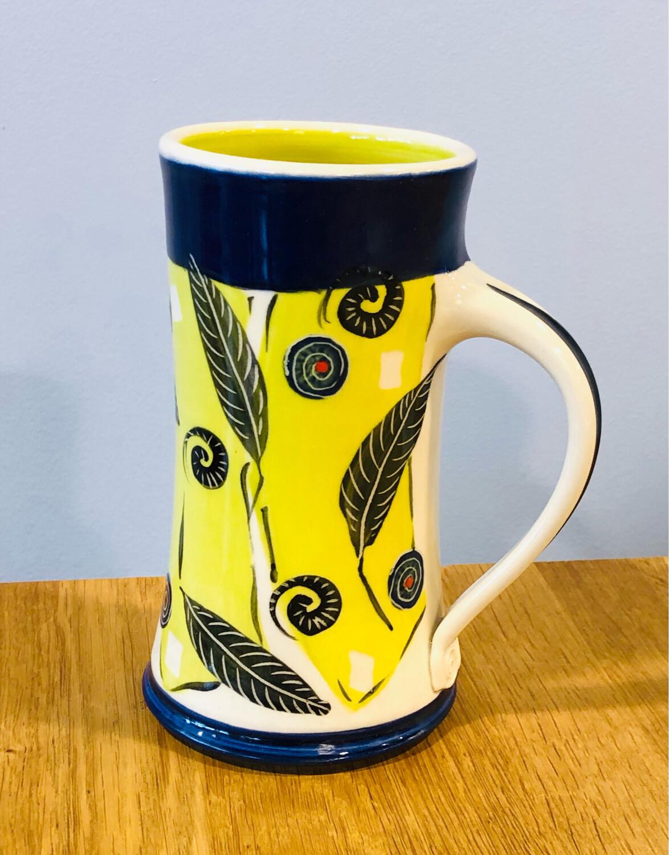 Green Mug Navy Accents - Keffer