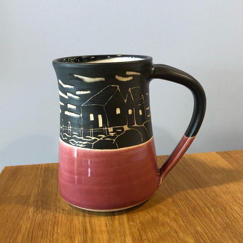 Peggy's Cove Mug - Raspberry