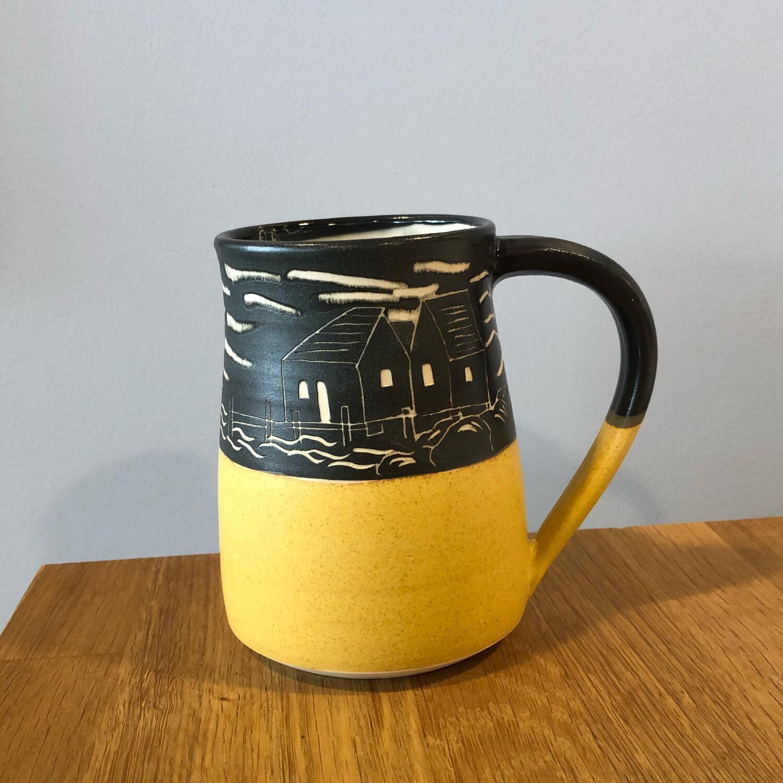 Peggy's Cove Mug - Yellow