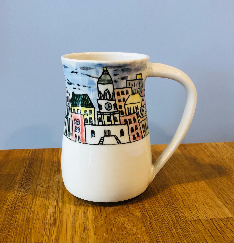 Colourful Halifax Skyline Mug