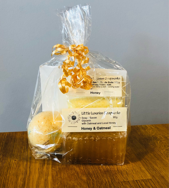 Honey Oatmeal Gift Set
