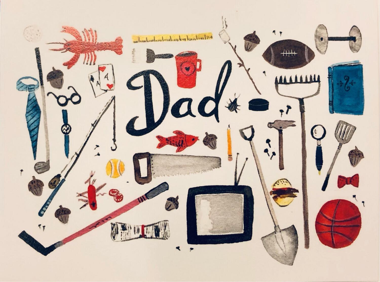 Sarah Duggan Dad Card