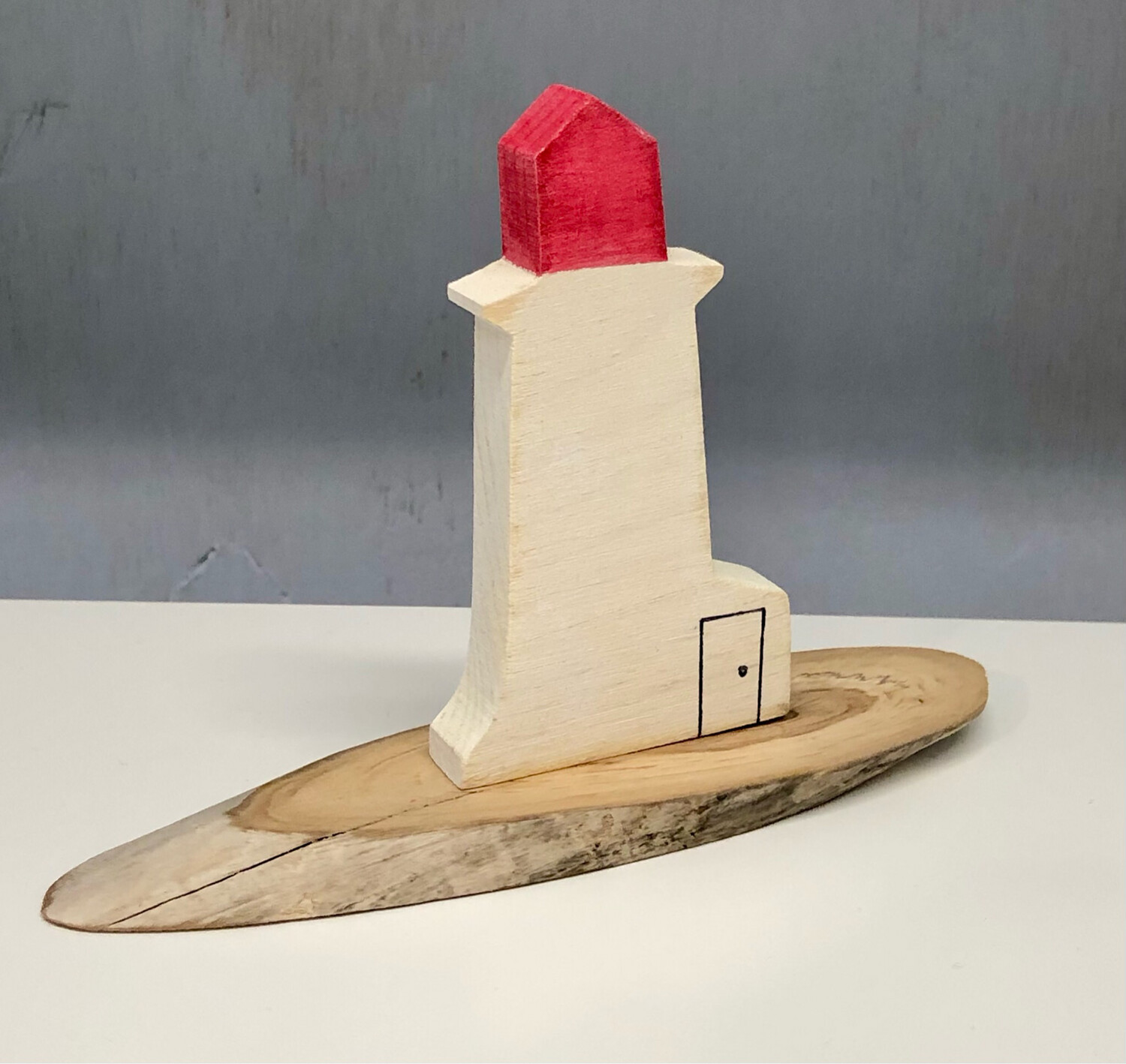 Red Lighthouse - Jerry Walsh