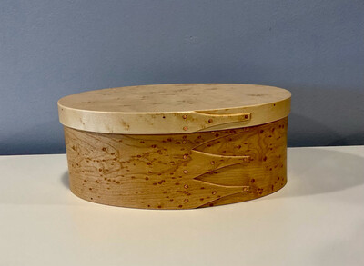 BR Shaker Box #4- Bird's Eye Maple