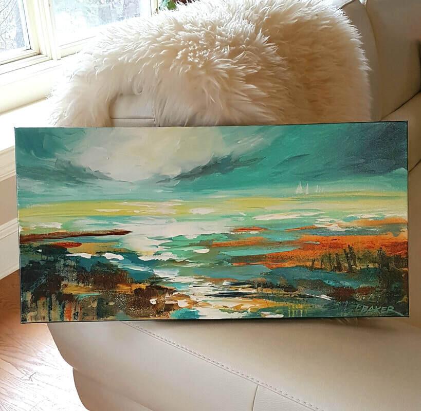 Tide Pools - Louise Baker